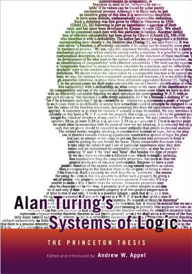 Alan Turing's Systems of Logic By Appel, Andrew W. (EDT)